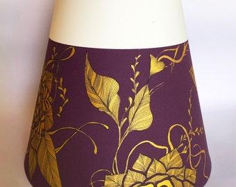 "Lamp shade ""C-Purple"""