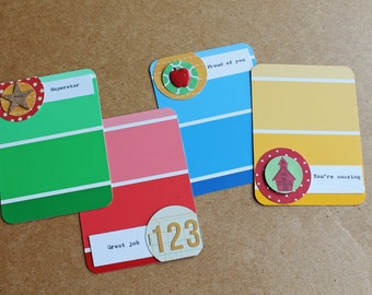 SCHOOL DAYS Embellished Project Life Journaling Cards