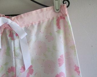 Peony Blossom vintage pajamas
