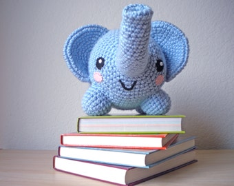 Crochet Elephant Stuffed Animal