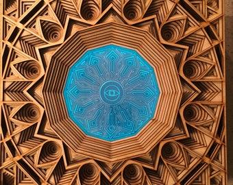 The eye - light and wall art