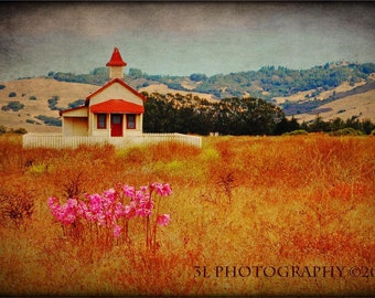School House Rustic Photography Southwestern Home Decor Fine Art Photographic Print