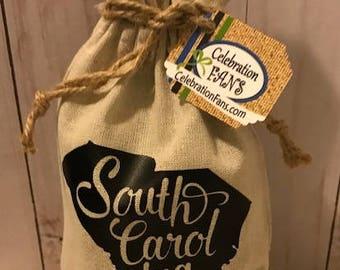 South Carolina Script State Pouch