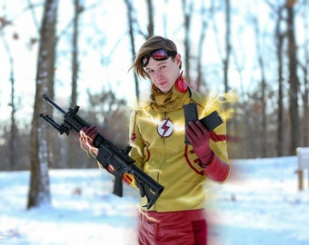 3D Printed Flash / Kid Flash Comic Ear Wings for Cosplay