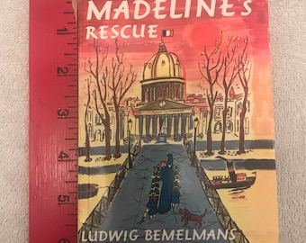 Small Vintage Madeline Soft Cover Book