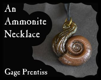 An Ammonite Necklace #20
