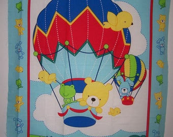 Stuffed Animals Blue Balloon Ride