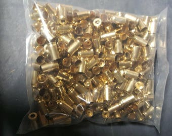 380 Auto processed brass casings for crafting or reloading 250ct