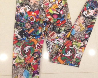 Collage leggings