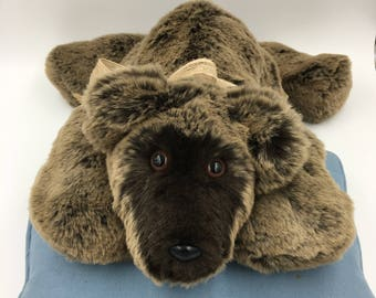 Teddy Bear, Incredibly Soft, Huggable, Plush, Handmade, OOAK, For Children & Adults, Irresistible, Comforting to hold, Cuddly, Two toned