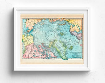 World Map, Vintage World Map, Printable Map, Travel Theme Nursery, Map Decor, Vintage Map Decor, Map Print, Map Wall Art, Adventure Theme