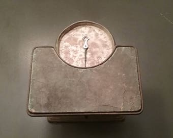Antique Detecto Scale/Bathroom Scale/House Scale/People Scale/Weight Scale/Vintage Scale/Farmhouse Scale/Old Scales/Metal Scale/Scales