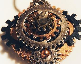 OLD FAITHFUL Steampunk Pendant