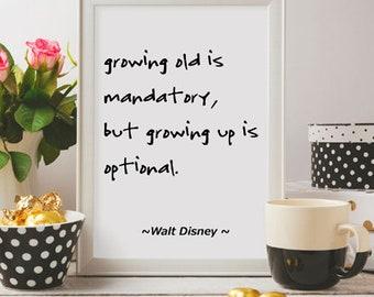growing up is mandatory