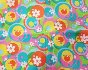 Fitted Crib sheet / fitted crib/ crib sheet / toddler sheet / Flower crib sheet / girl crib sheet