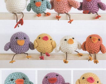 DMC (14900L/2) Family of Chicks Crochet Pattern