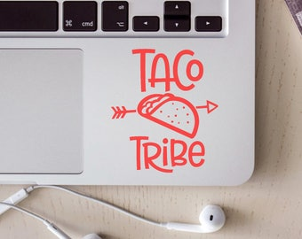Taco Tribe Decal, Taco Decal, Taco Vinyl Decal, Taco Tribe Vinyl Decal, Taco, Arrow, Tribe, Car Decal, Laptop Decal
