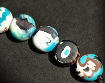 Polymer Clay Perlen/Cherokee