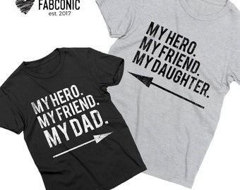 Daddy and daughter, Daddy daughter shirts, Matching daddy daughter shirts, My dad my daughter shirts, Daddy and daughter matching shirts