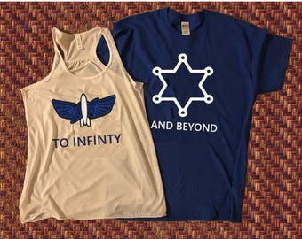 To Infinity and Beyond Shirts, Disney Couples Shirts, Disney Vacation Shirts, Disney Couples Shirt, Toy Story