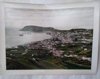 Vintage photo of Azores Islands in 1960's