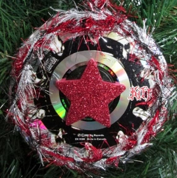 kittie christmas ornament diy heavy metal christmas z2 - Heavy Metal Christmas Decorations