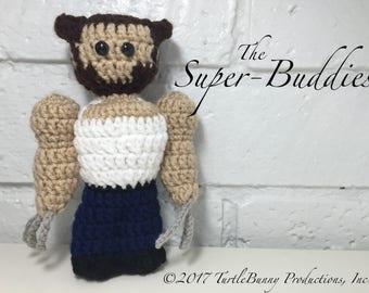 Logan (Wolverine) Superhero Inspired Nerd Crochet