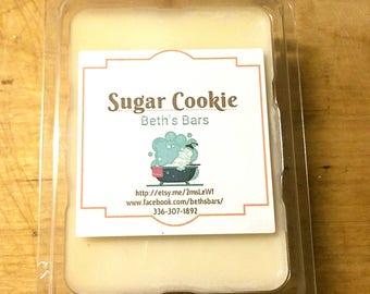 3OZ SUGAR COOKIE MELTS, Sugar Cookie Soy Wax Melts, Sugar Cookie Wax Melts, Sugar Cookie Wax Tarts, Vanilla Wax Melts, Wax Melts, Wax Tarts