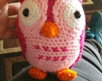 Made to order crochet owl