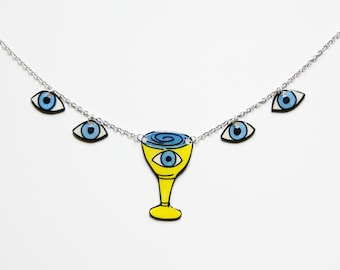 Tarot Necklace | Cups