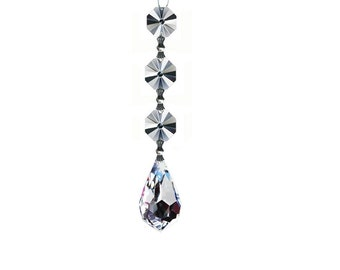 Clear Tear Drop Crystal Accent - 20 mm Austrian Crystal - Rainbow Maker - Crystal Sun Catcher - Window Hanging - Bridal Shower Gift