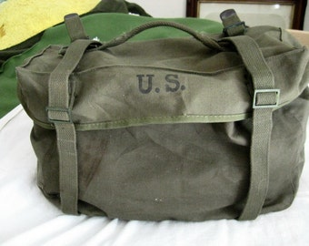 Reserved flr Shawn WWII Pack Field Cargo M-45 Combat Pack US American Awning & Canvas 1951 Military