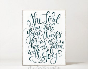 Great Things Art Print
