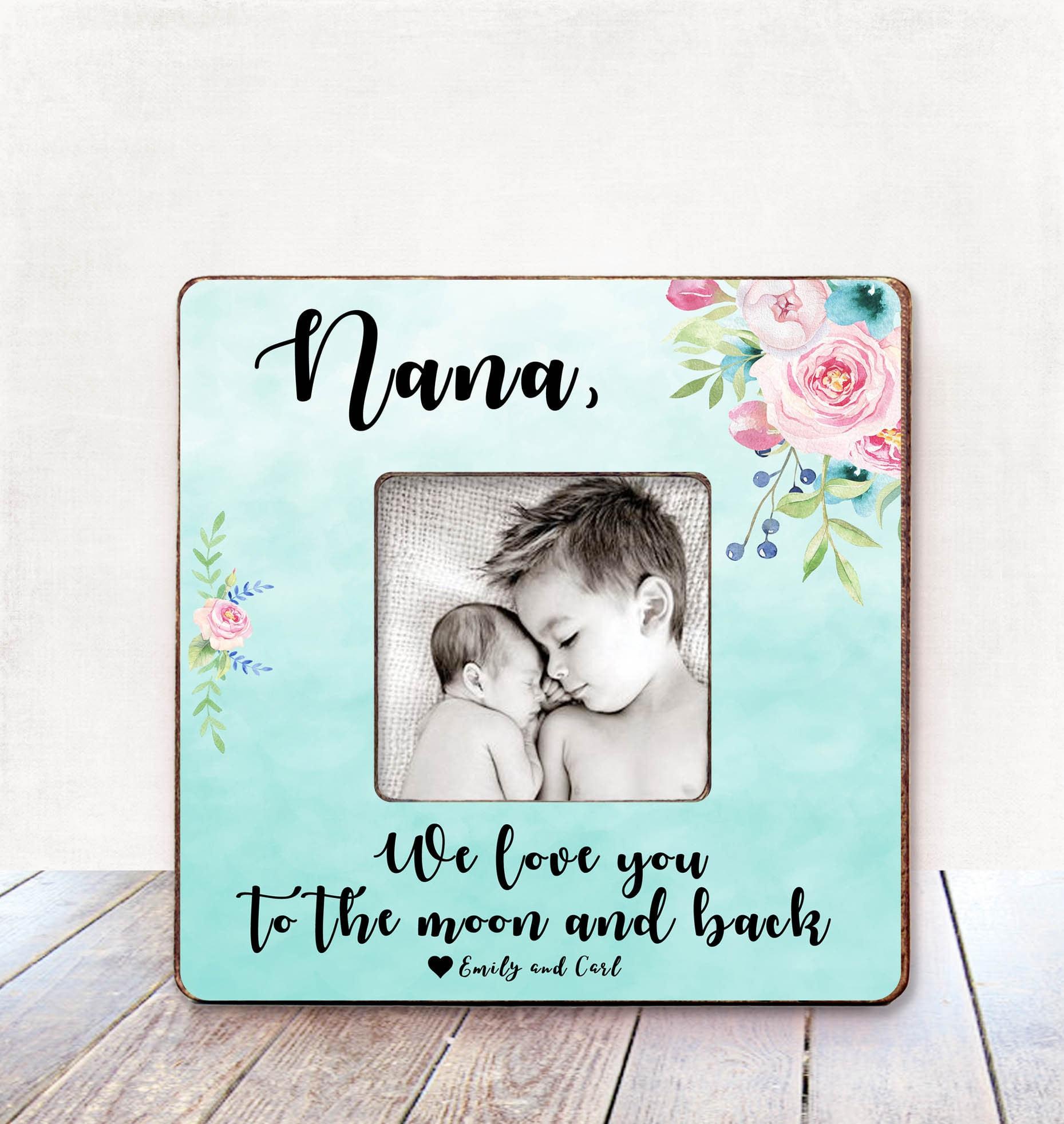 Oma Geschenk personalisierte Bild Rahmen Oma Geburtstag