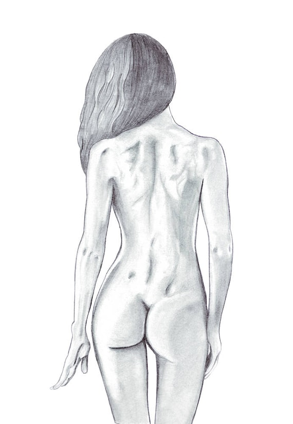young girls drawn nude