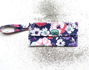 Purple floral for Girl Style Purse