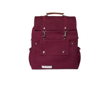Small Backpacks Violet Red/Messenger bags/Crossbody bags/Travel Bags/School Backpacks/leather backpack/kids bag/Bags&Purses/Diaper bag