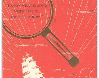 SH409 Sherlock Holmes  Anniversary Card