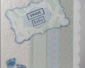 Sweet Baby - Greeting Card for a boy