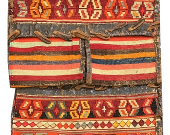 Antique Shahsavan Kilim Bag 1.16m x 0.58m