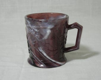 Imperial Purple Slag Robin Mug # 210
