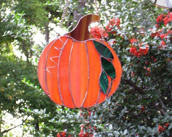 Bright Orange Fall Pumpkin
