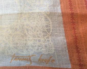 Vintage Tammis Keefe handkerchief