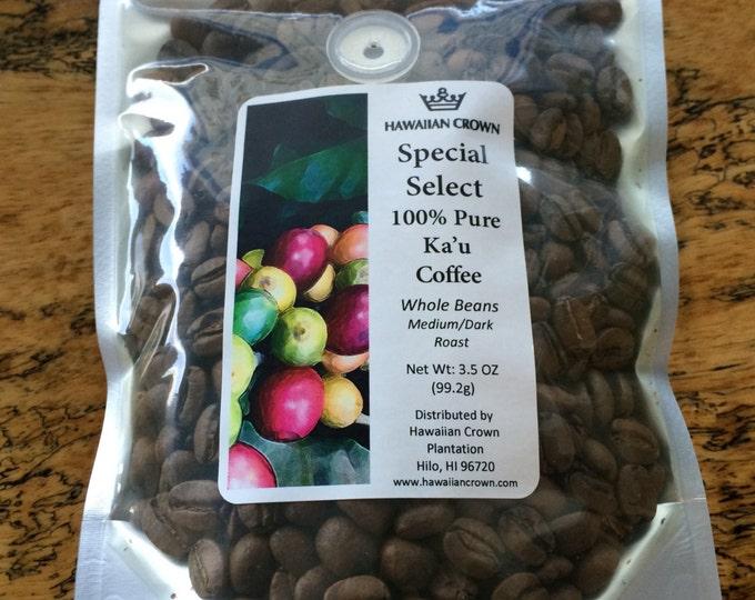 Ka'u 100% Pure Hawaiian Coffee- 3.5oz