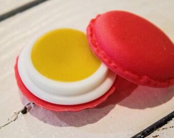 Watermelon flavored lip butter