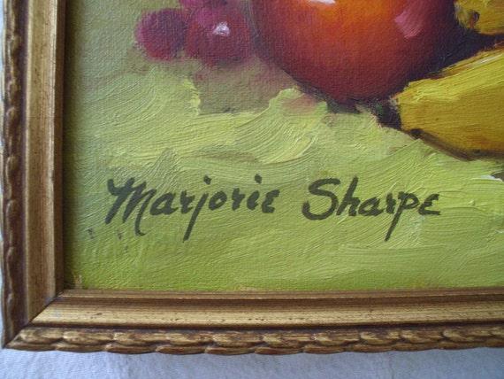 Marjorie sharpe paintings