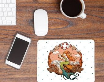 Mousepad Mermaid Dots MP25