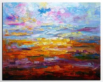 Landscape Painting, Canvas Art, Large Art, Original Art, Abstract Art, Canvas Painting, Wall Art, Large Art, Wall Art, Abstract Painting