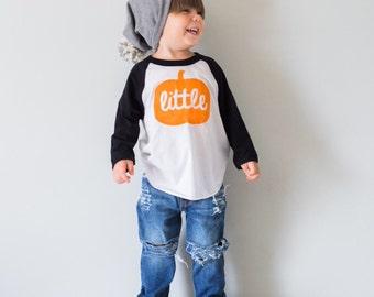 Little Pumpkin Shirt for Kids - Halloween Baby Shirt - Fall kids Outfit - Pumpkin Patch Pictures - Baby Shower Gift - Little Pumpkin Shirt
