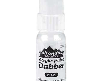 CLEARANCE SALE three Pearl colored paint dabber bottles